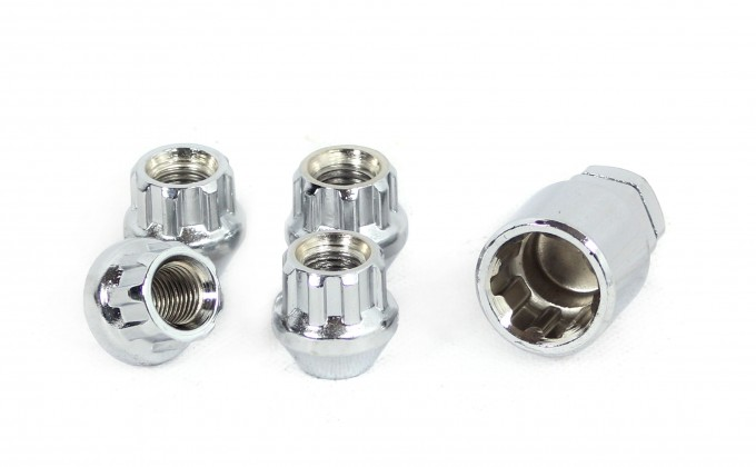 "7/16"" UNF TAPER SEAT LOCKING WHEEL NUTS"