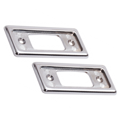 MINI ALLOY DOOR LATCH PLATES