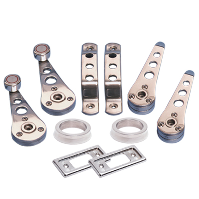 10 PIECE POLISHED ALLOY MINI HANDLE SET